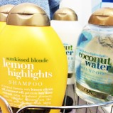 Lemon Highlights Shampoo & Conditioner (which works well on brunette hair with slight blonde highlights too)
